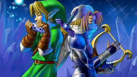 Gramy w Ocarina of Time 3D