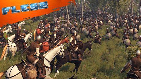 Mount and Blade 2 i 1 000 postaci w jeden bitwie - FLESZ 30 maja 2017