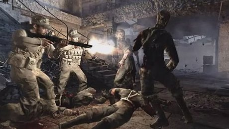 Gramy w World at War - Nazi Zombies!