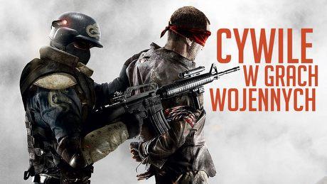 Cywile w grach wojennych - jak strzelaniny nie chcą dorosnąć