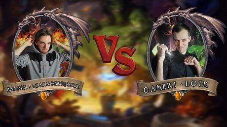 Turniej Hearthstone - Kacper vs Gambrinus