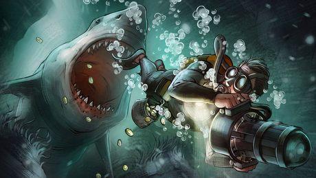 Rekiny kontra nurkowie - smaczny k�sek dla fan�w oryginalnych gier