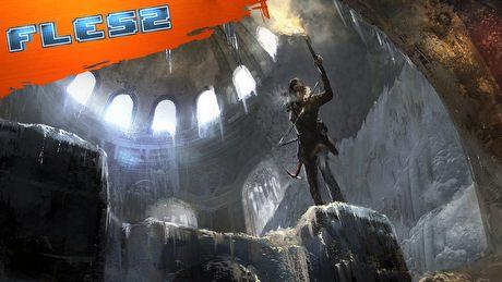 Lara Croft niedźwiedzi się nie boi. FLESZ – 12 lutego 2015