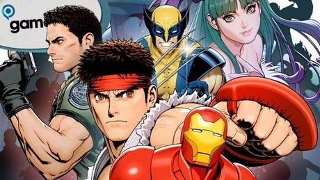 Gramy w Marvel Versus Capcom 3 - gamescom