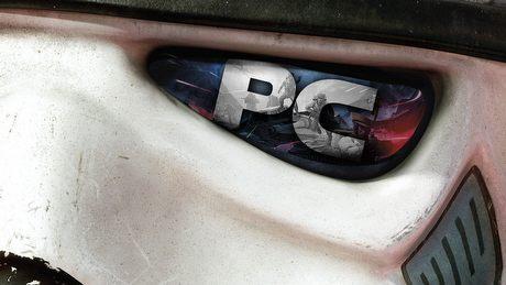 Śliczny i okrojony - gramy w Battlefront na PC.