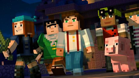 �wiat tego nie potrzebowa�. Gramy w Minecraft: Story Mode