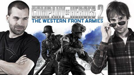 Company of Heroes 2 � �osiu i T-Bone w szeregach Armii Frontu Zachodniego