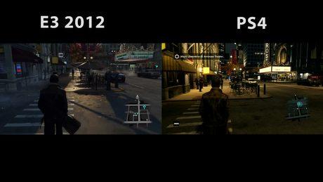 Watch Dogs 2012 vs rzeczywistość na PS4