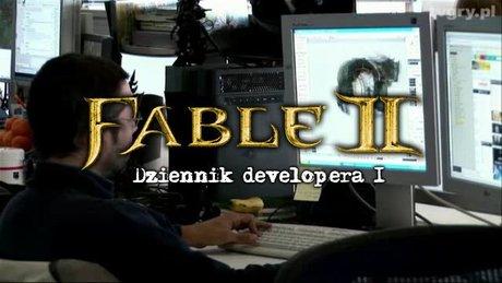 Dziennik developera Fable 2 - cz. 1