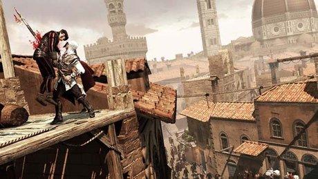 Gramy w Assassin's Creed II - spacer po Florencji