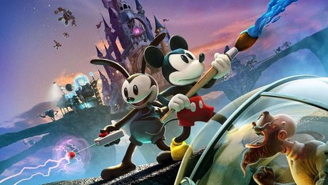 Gramy w Epic Mickey 2!