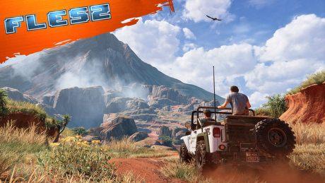 Uncharted 4 błotniste i piękne – nowy imponujący gameplay. FLESZ – 5 kwietnia 2016
