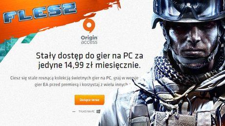 Netflix dla graczy? Origin Access w Polsce - FLESZ 28 stycznia 2016