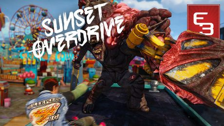 E3 2014: Gramy w Sunset Overdrive - zam�t w 8-osobowym co-opie!