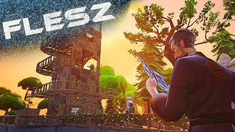FLESZ - 9 lipca 2014 - Fortnite jak malowany!