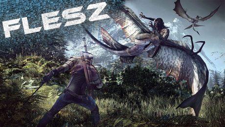 FLESZ - 20 sierpnia 2014 - 30 minut z Wiedźmina!