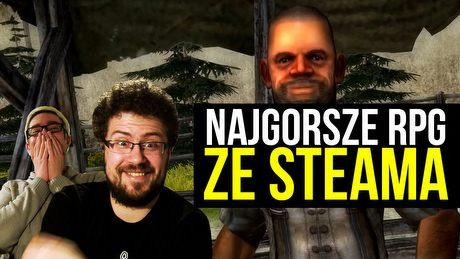 Najgorsze gry RPG ze Steama – Gry z Kosza prezentują