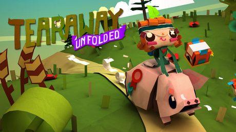 Gra z E3 2015, którą Kacper bardzo chciał pokazać - gramy w Tearaway Unfolded!