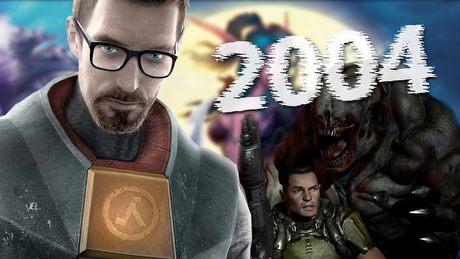 2004 – rok, w którym wyszły Half-Life 2 i World of Warcraft
