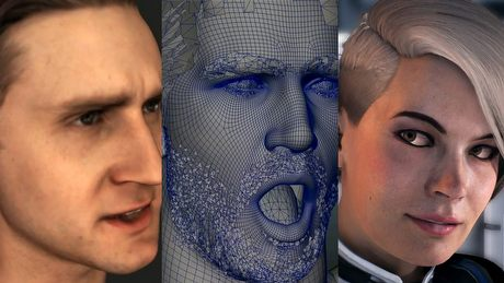 Animowanie twarzy w grach wideo