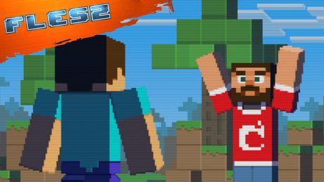 Minecraft niczym Żywe trupy i Gra o Tron. FLESZ – 19 grudnia 2014