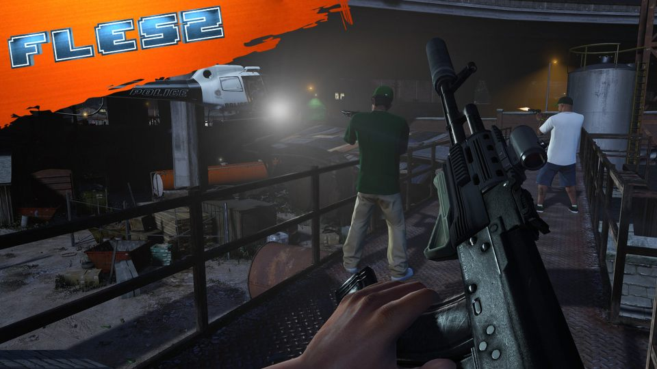 Rockstar nie zapomnia� o napadach w GTA Online. FLESZ � 14 listopada 2014