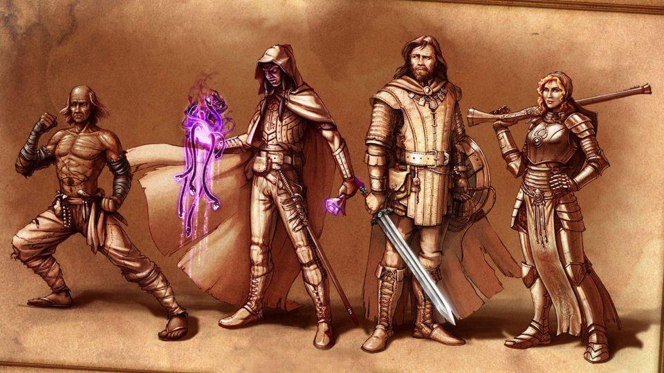Kreator postaci w becie Pillars of Eternity - tyle opcji!