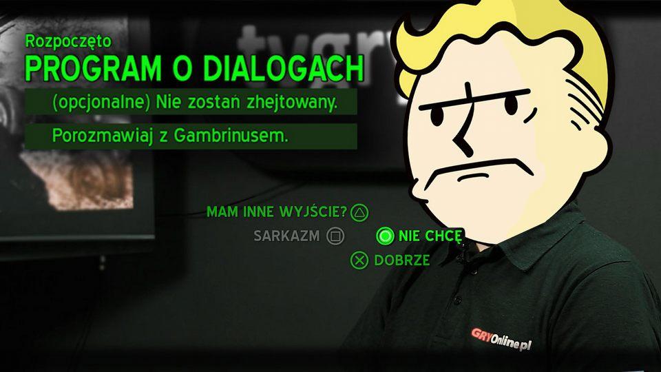 Jak marne dialogi pogr��y�y Fallouta 4 - por�wnanie z New Vegas i Fallout 2