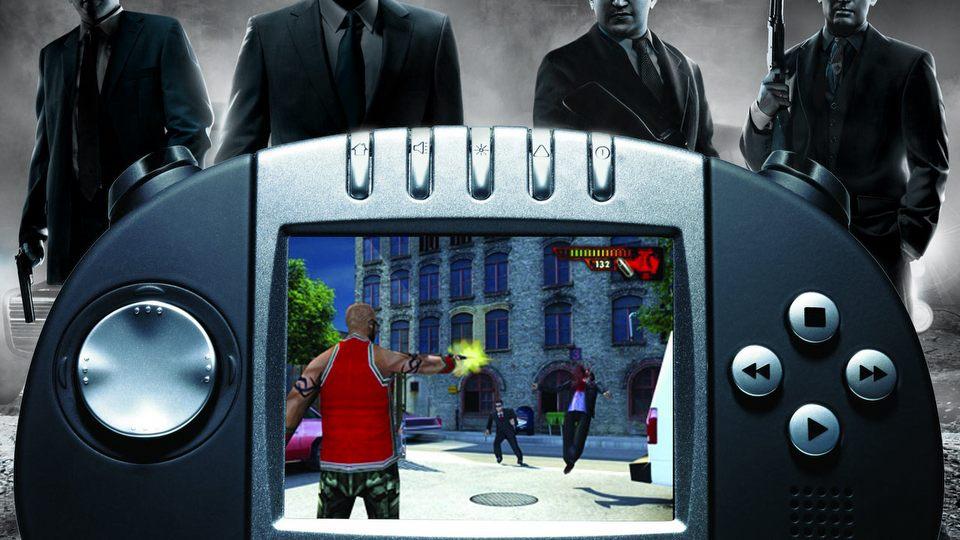 Pora�kowa konsola z mafi� w tle - historia Gizmondo