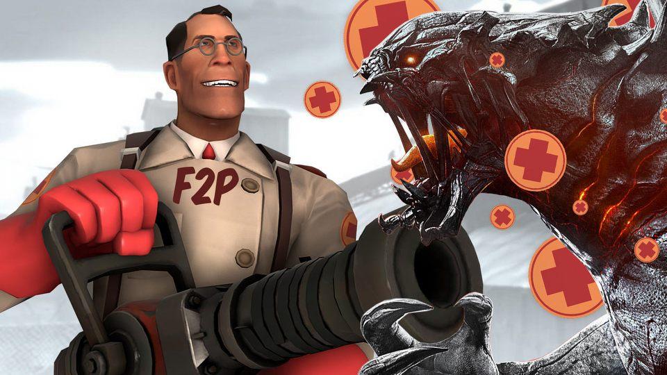 Od Team Fortress 2 do Evolve - gry uratowane (?) przez model free-to-play