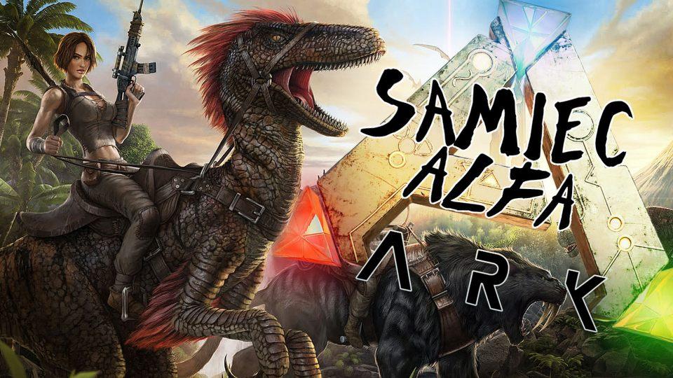 Dinozaury i� ludzkie odchody � gramy w ARK: Survival Evolved w Samcu Alfa #40