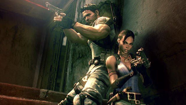Gramy w Resident Evil 5 - tryb wsp�pracy