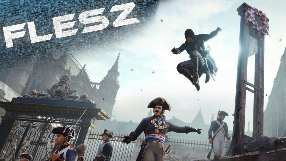 FLESZ � 29 sierpnia 2014 � Assassin's Creed Unity z now� dat� premiery