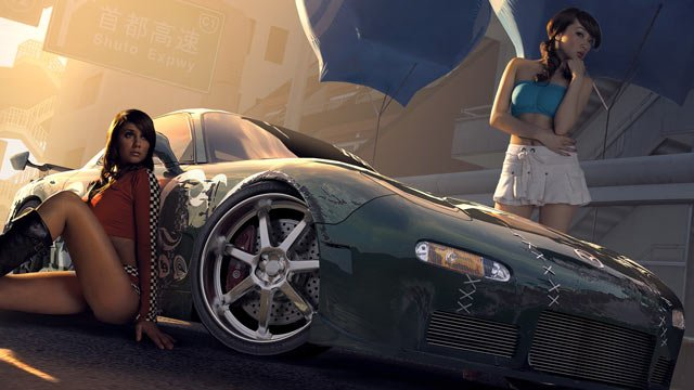 Gramy w Need for Speed ProStreet