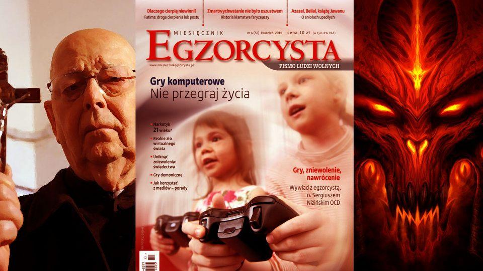 Egzorcysta straszy grami � czego dowiecie si� o grach z tego czasopisma?