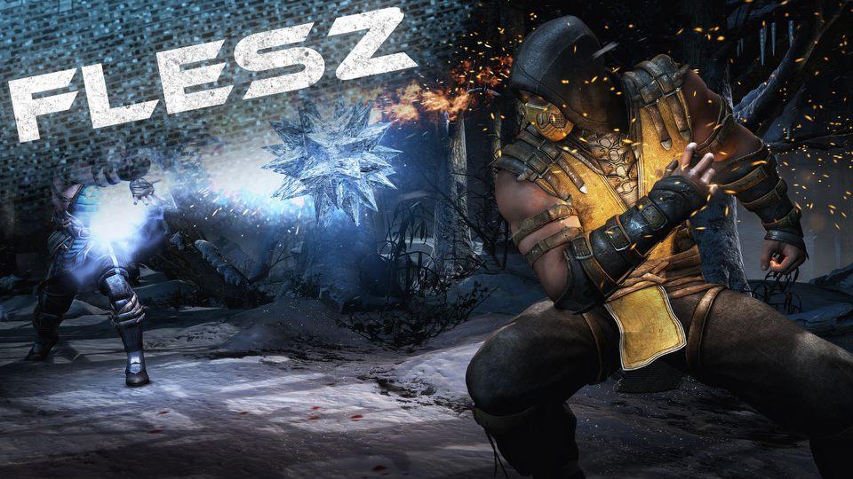 FLESZ � 9 wrze�nia 2014 � pojedynek na premiery: Batman kontra  Mortal Kombat
