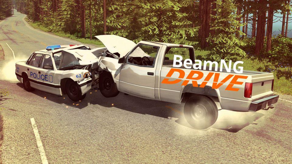 Pierwsza liga fizyki zniszcze� � test zderzeniowy BeamNG Drive (Samiec Alfa #41)