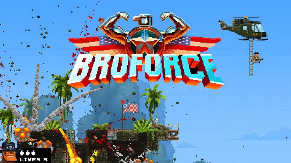 Broforce - Jak skutecznie szerzy� demokracj�?