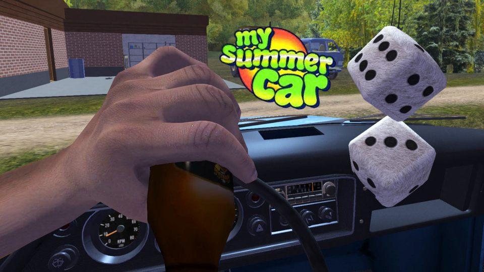 Samochodowy sandboks z promilami. Ruszamy do Finlandii w My Summer Car