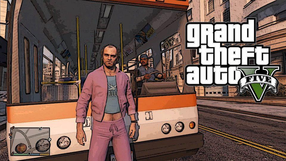 GTA V � zabawy z mieszka�cami Los Santos