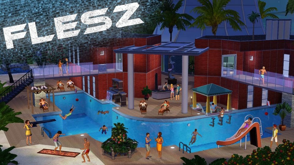 FLESZ � 2 pa�dziernika 2014. Baseny wr�c� do The Sims 4