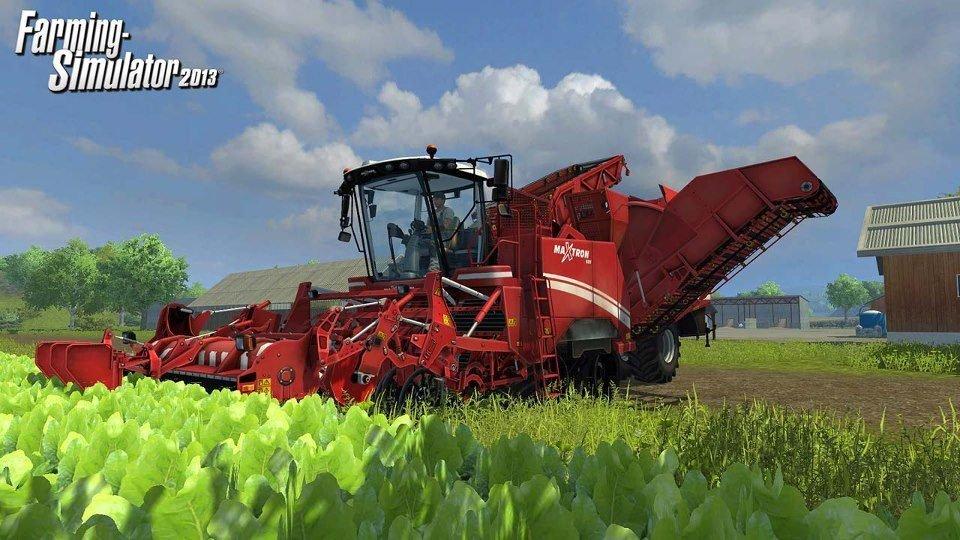 Gramy w Farming Simulator 2013 - Piękno wsi
