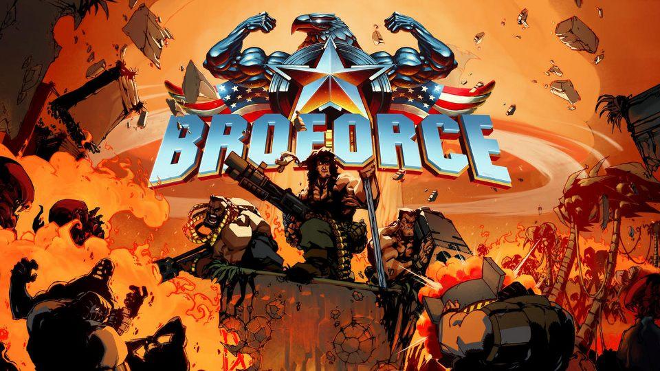 Samiec Alfa #16 � Robocop, Neo i S�dzia Dredd szerz� demokracj� w Broforce