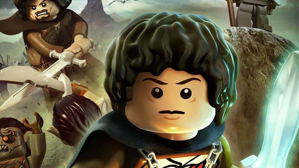 Gramy w LEGO W�adc� Pier�cieni!
