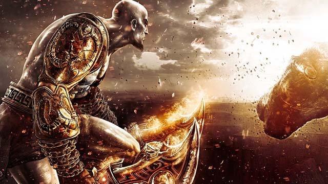 Gramy w God of War III - Hermes i scenka erotyczna