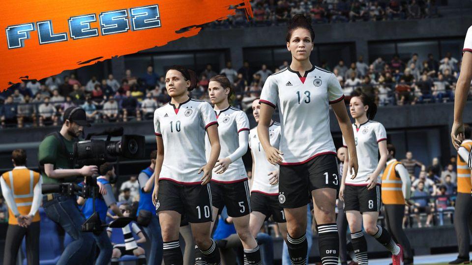 Kobiece dru�yny w FIFA 16 � tego jeszcze nie by�o. FLESZ � 28 maja 2015