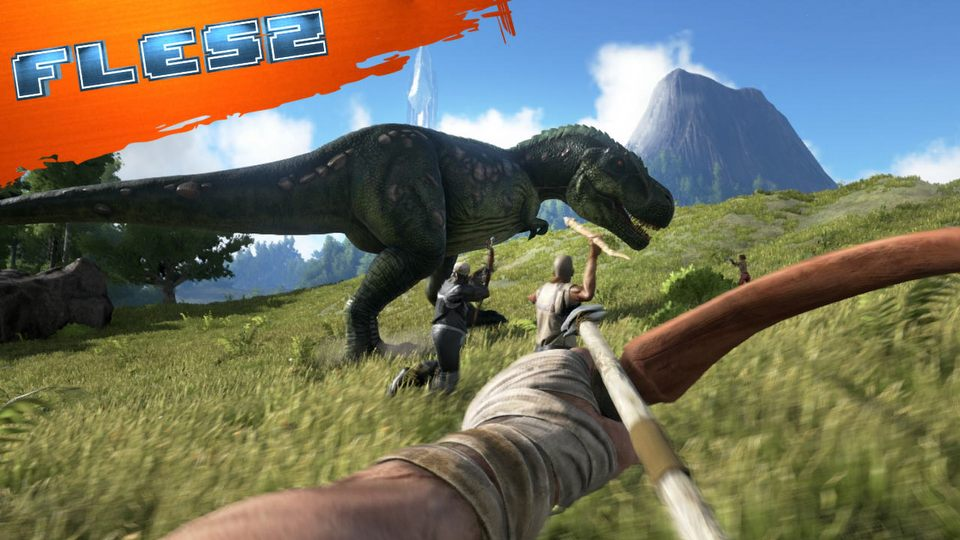 ARK: Survival Evolved z dat� premiery i paczka gier prawie za darmo. FLESZ - 2 wrze�nia 2015