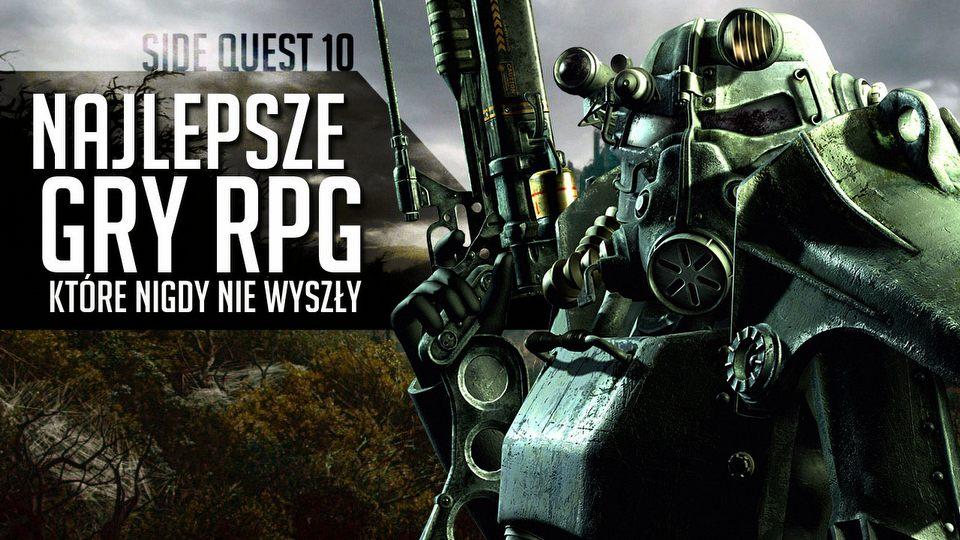 Najlepsze gry RPG, kt�re... nigdy nie wysz�y - Side Quest #10