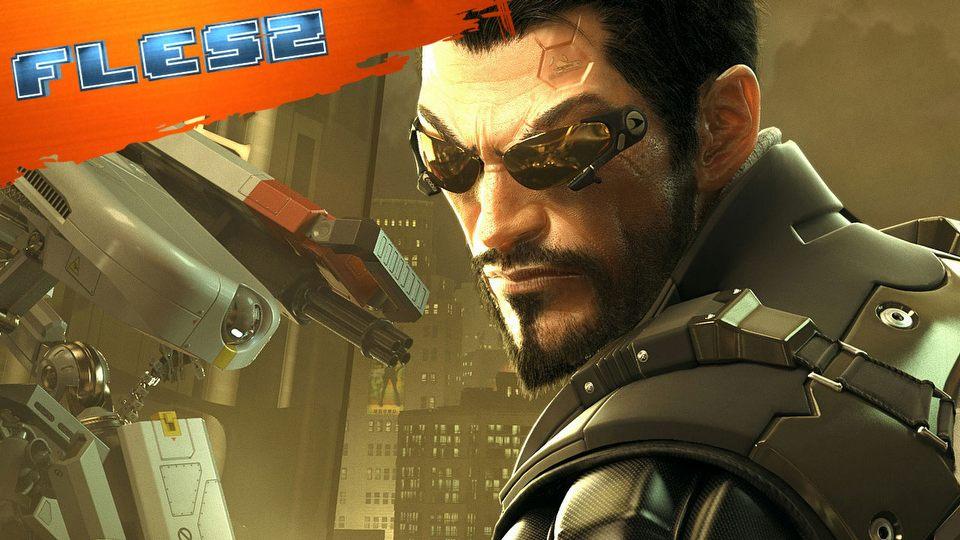 Deus Ex: Mankind Divided zalicza po�lizg. FLESZ - 19 listopada 2015