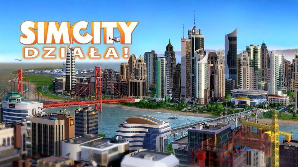 SimCity dzia�a!